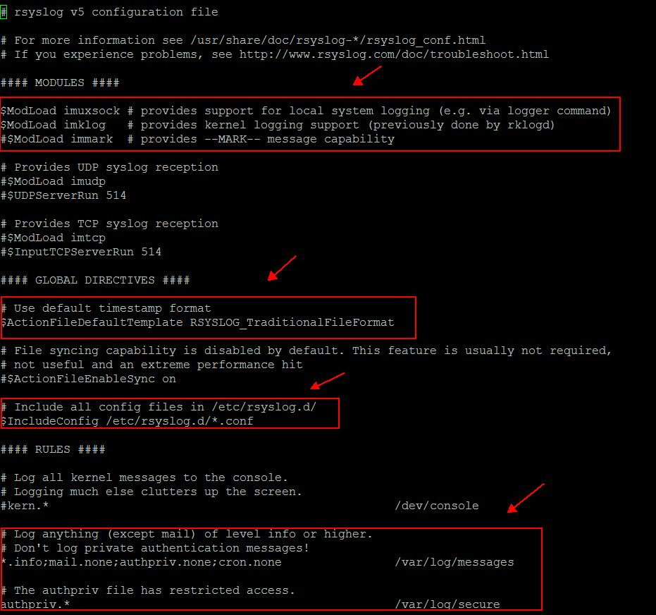 Rsyslog TCP/IP log forwarding to Logentries with Netscaler