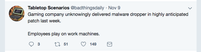 Exhibit A: While often tongue-in-cheek, @badthingsdaily provides plenty of inspirational nuggets.