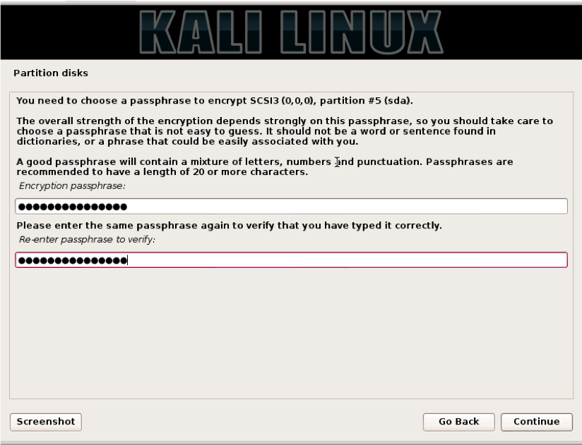 How to Create a Secure and Portable Kali Installation