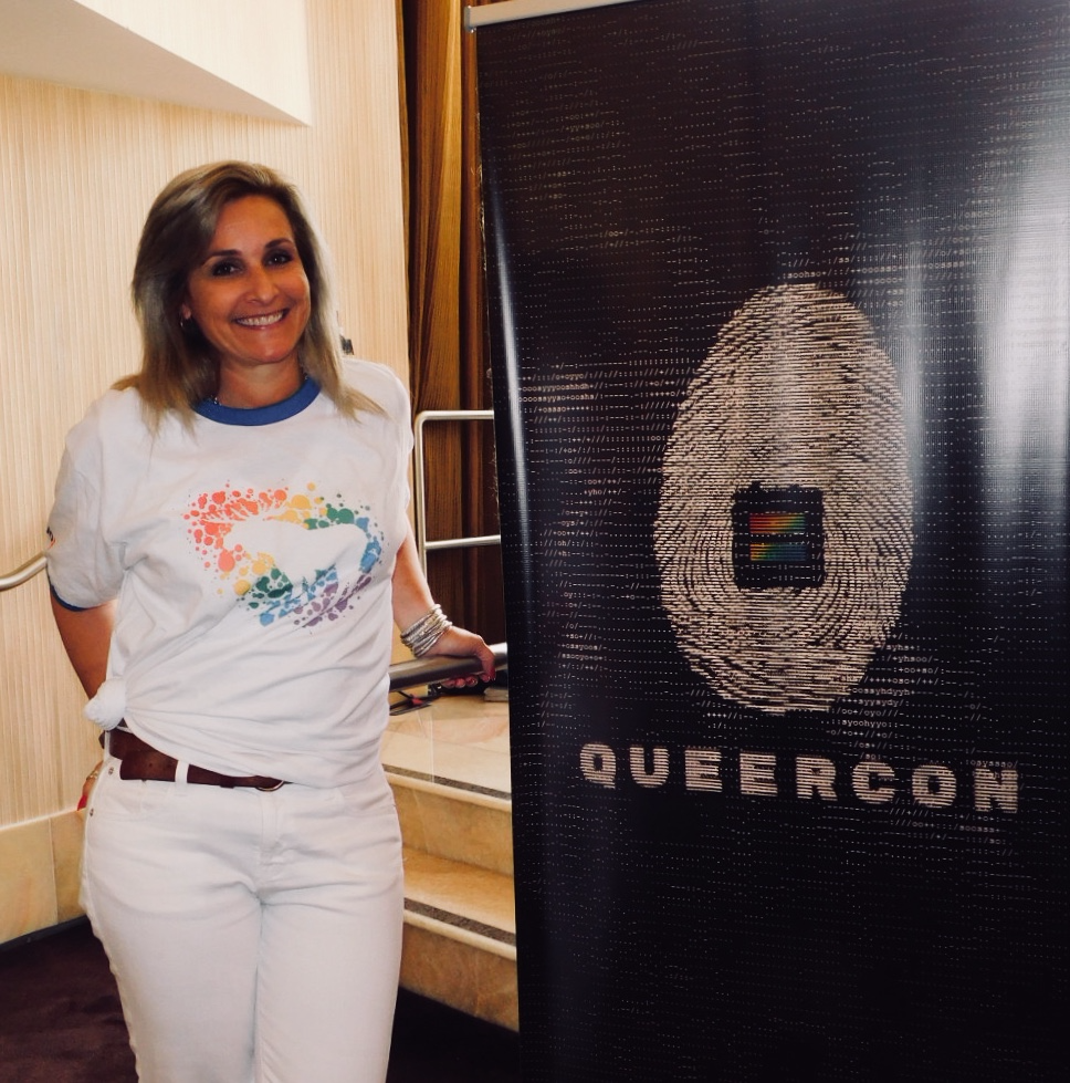 Rapid7's Christina Luconi at Queercon