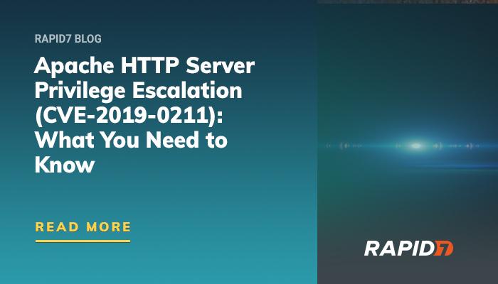 Apache HTTP Server Privilege Escalation (CVE-2019-0211) Explained