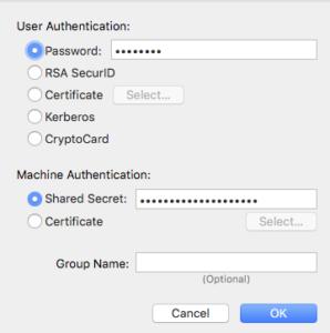 VPN Auth