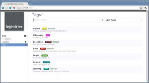 Log Analysis: User Tags