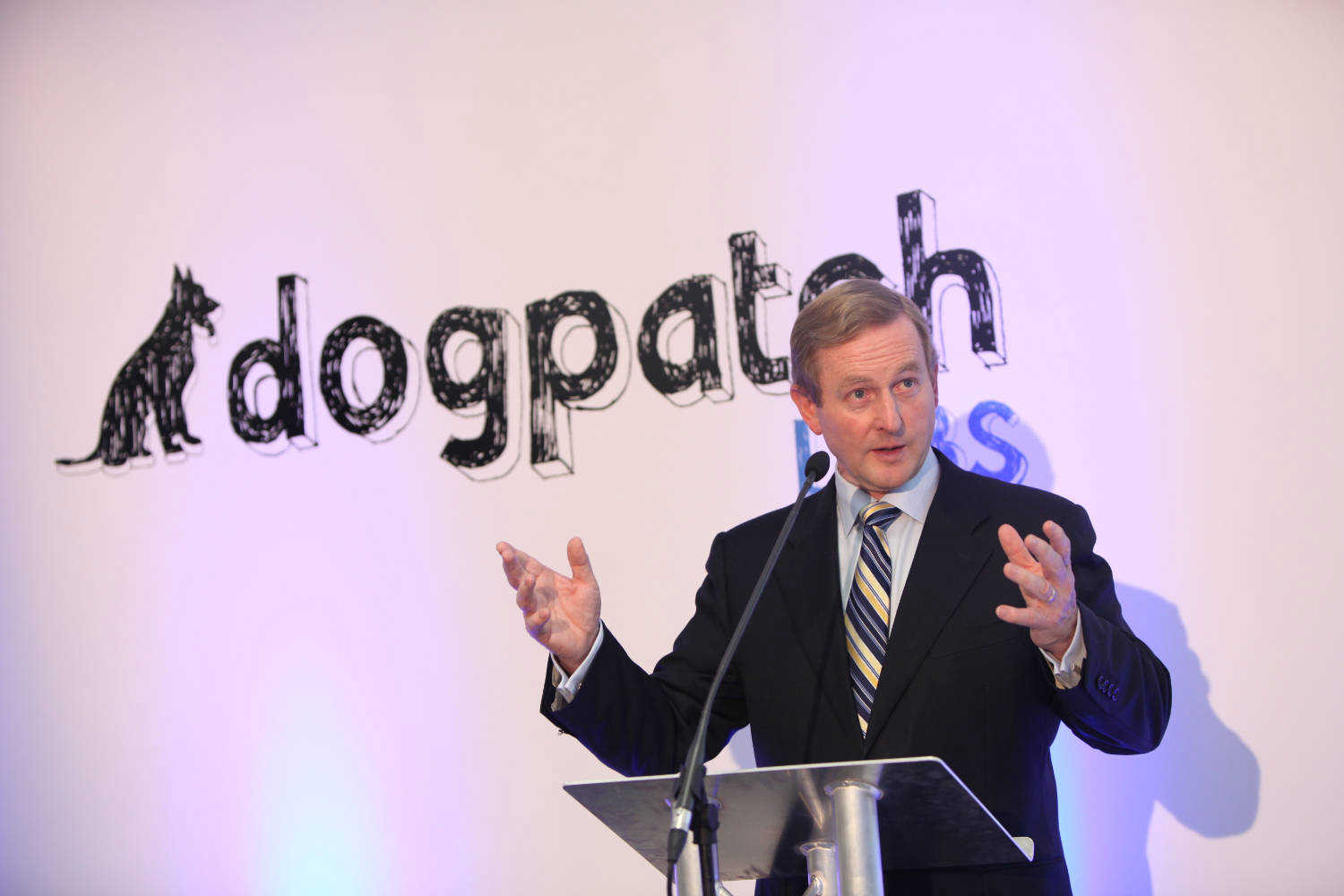 Enda Kenny Talks Tech and Logentries