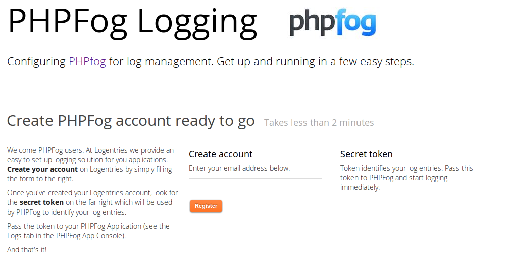 Log Management in PHP from Logentries