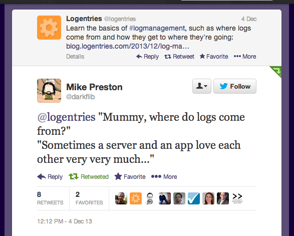 Agents and Log Management