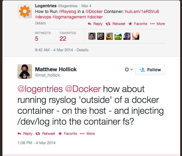 The State Of Logging On Docker