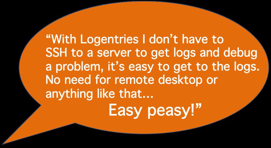 Logentries, easy log management