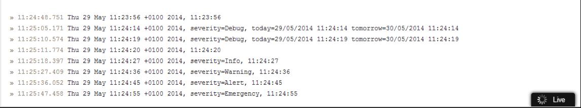 Windows Phone logging severity alerts