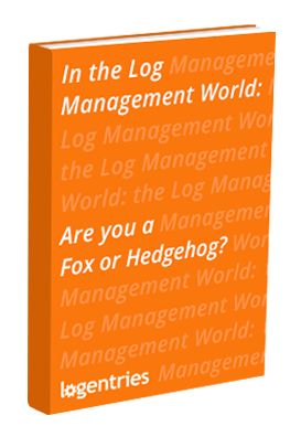 in the log management world are you a fox or hedgehod