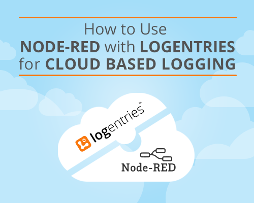 Node-red-with-logentries