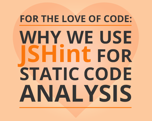 JSHint for static code analysis