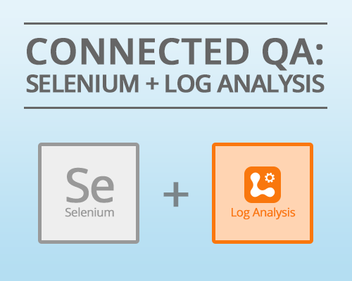 Using Log Analyis for Selenium QA Testing