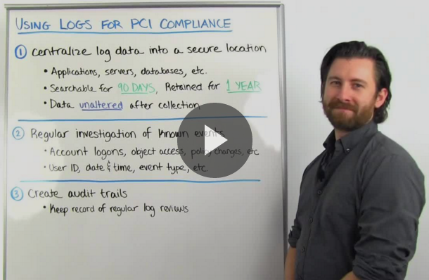 Video: Logging for PCI Compliance