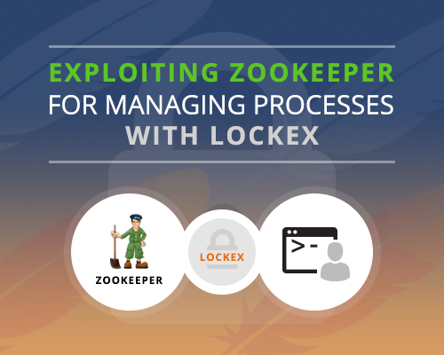 Exploiting Zookeeper for managing processes in a production