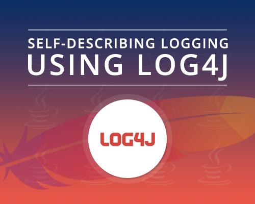 Self-describing Logging Using Log4J