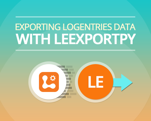 Exporting Logentries data with Leexportpy