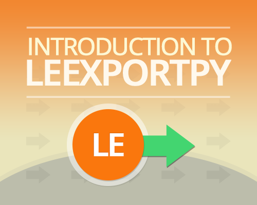 Introduction-to-Leexportpy