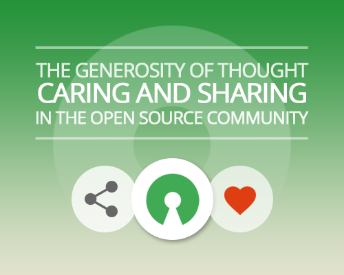 The Generosity Of Thought Caring And Sharing In The Open