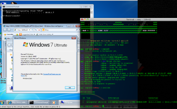 New Metasploit 0-day exploit for IE 7, 8 & 9 on Windows XP, Vista, and 7