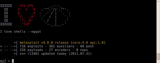 Metasploit Framework 4 0 Released!