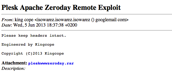 Good Exploits Never Die: Return of CVE-2012-1823