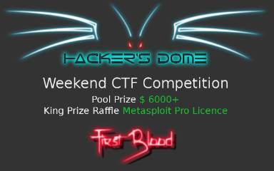 Hacker's Dome: An Online Capture-the-Flag (CTF) Competition