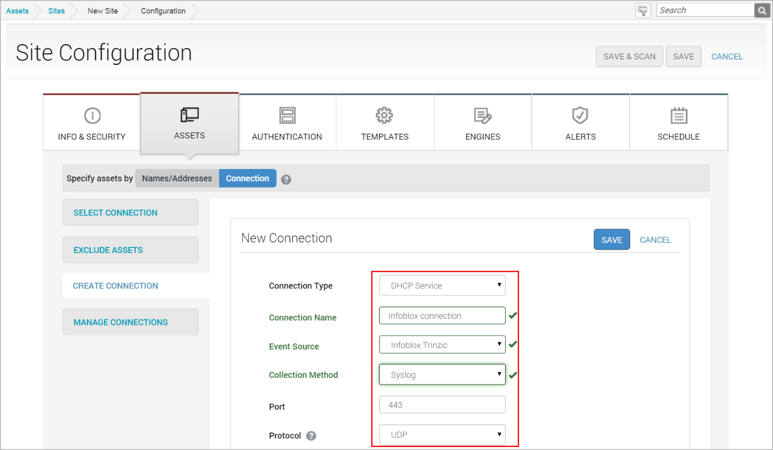 Discover Assets Dynamically with Infoblox DHCP