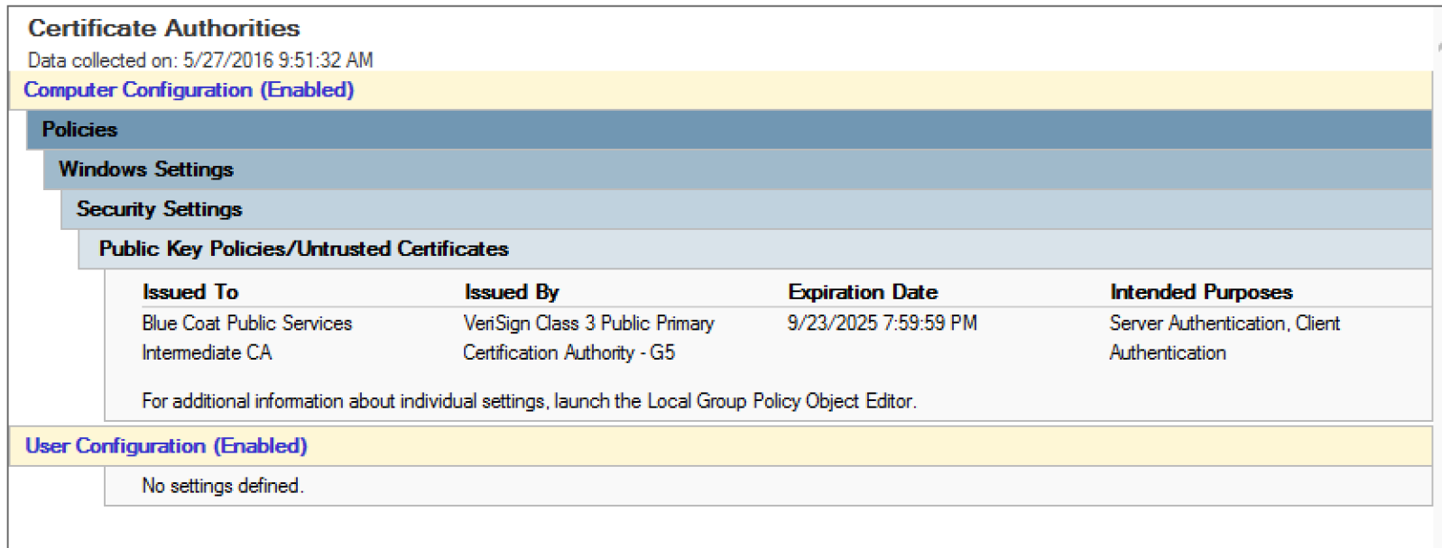 Revoking And Pinning Certificate Authorities In Windows