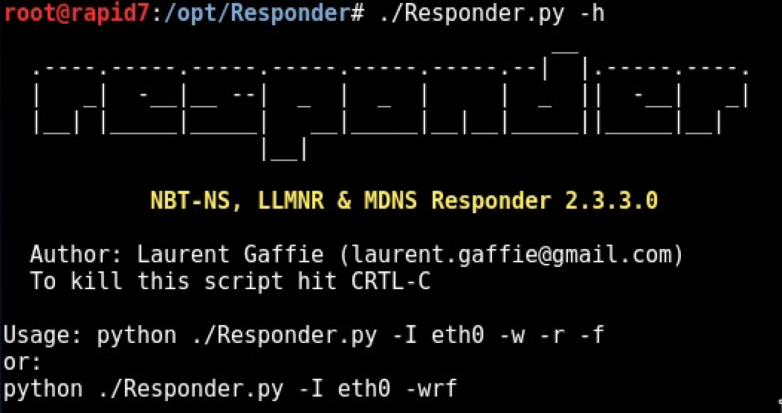 Combining Responder and PsExec for Internal Penetration Tests